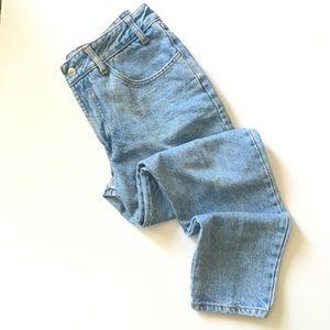 VTG Bongo High Waisted Denim Mom Jeans 0595